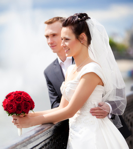 Picture of Wedding Couple